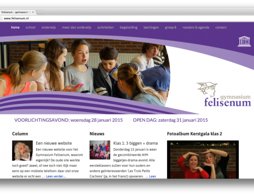 Website Gymnasium Felisenum